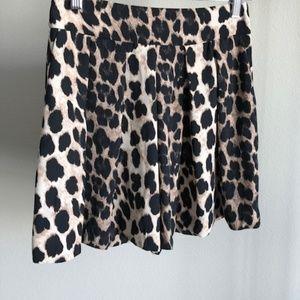 Zara Leopard Skorts